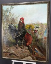 HENRY BONNEFOY(1839-1917)-HAUPTWERK-ÖL AUF LEINWAND-SIGNIERT