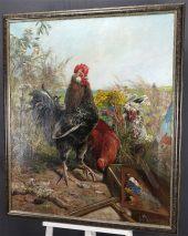 HENRI ARTHUR BONNEFOY (1839-1917)-HAUPTWERK-ÖL AUF LEINWAND-SIGNIERT