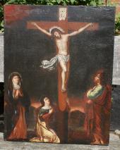 JESUS AM KREUZ 17.JAHRHUNDERT