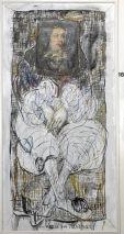 Charlotte (Murkel) Schuberth (1914-2000)-VIELLEICHT EIN VELAZQEZ?-ÖL/EINW.1630/1980