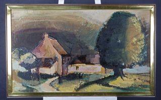 ERIC VAN SOENS(1939)Ixelles / Elsene Öl auf Leinwand signiert