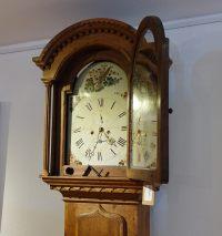 BAROCKE SIGNIERTE ENGLISCHE STANDUHR ENGLAND 18.JAHRHUNDERT(Grandfather Clock)