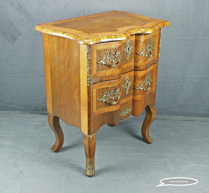 antiquit ten und kunstgegenst nde dresdner kommode nussbaum. Black Bedroom Furniture Sets. Home Design Ideas